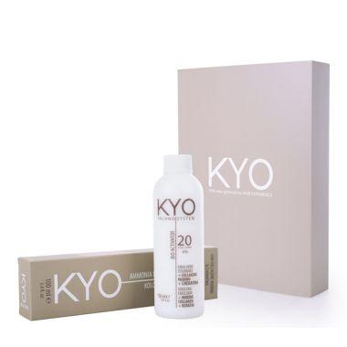 Set farba za kosu i hidrogen KYO