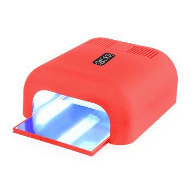 UV lampa za sušenje gela i trajnog laka GALAXY UV2000 Crvena 36W