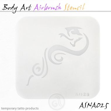 Airbrush šablon za telo ASN-BMA-A025
