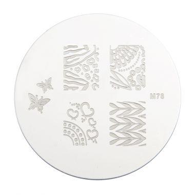 Šablon disk za pečate PMMO1 M78