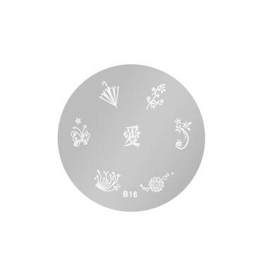 Šablon disk za pečate ASN B16