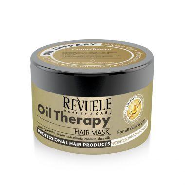 Maska za jačanje kose REVUELE Oil Therapy 500ml