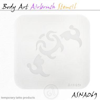 Airbrush šablon za telo ASN-BMA-A069