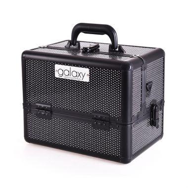Kozmetički kofer za alat i pribor GALAXY TC-1432BG Crni gliter dizajn