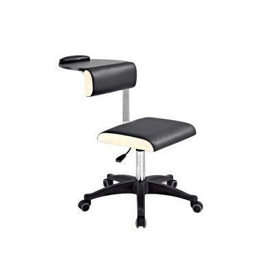 Pomoćna radna stolica DP3507 sa policom i podešavanjem visine