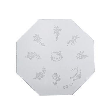 Šablon disk za pečate osmougaoni PMCG0 01