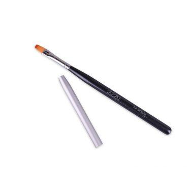 Četkica za gel tehniku nadogradnje GALAXY Flat DSNBF-01 Sintetička dlaka
