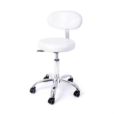 Pomoćna radna stolica DP9934/H sa naslonom za leđa i podešavanjem visine