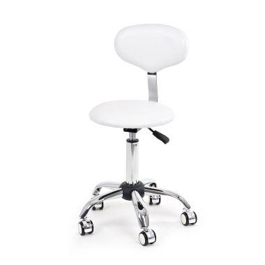 Pomoćna radna stolica Y887 sa naslonom za leđa i podešavanjem visine