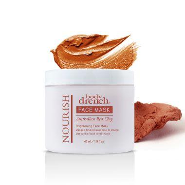 Maska za posvetljivanje kože na bazi australijske crvene gline Nourish BODY DRENCH 45ml