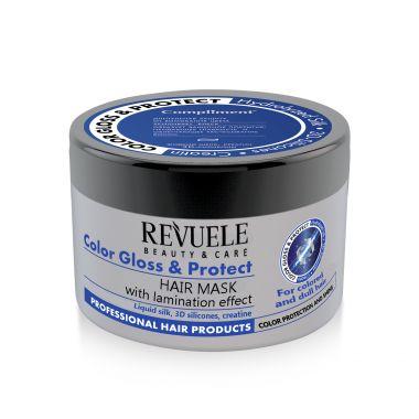 Maska za lameliranje kose REVUELE Color Gloss&Protect 500ml