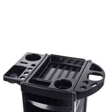 Frizerska pomoćna radna kolica za viklere i frizerski pribor NV-38032 sa 5 fioka i multifunkcionalnom policom