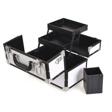 Kozmetički kofer za alat i pribor GALAXY TC-3201WC Beli