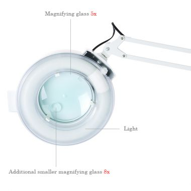 Kozmetički aparat za tretmane lica i tela M2019A sa 10 funkcija