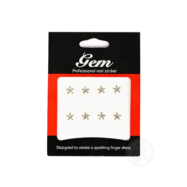 Nalepnice za nokte zvezdice 76702 Srebrno/Zlatne