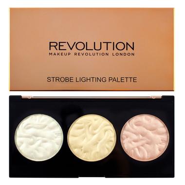 Paleta hajlajtera MAKEUP REVOLUTION Strobe Lighting Palette 15g