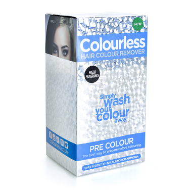 Set za dubinsko pranje kose i uklanjanje ostataka farbe COLOURLESS Pre Colour 3x60ml