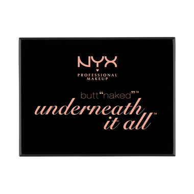 Paleta za šminkanje NYX Professional Makeup Butt Naked - Underneath It All S141