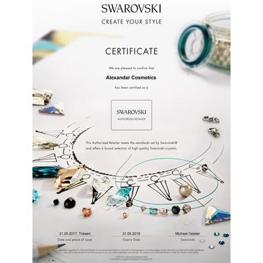 Kristali za nokte SWAROVSKI, A 2058 XILION Rose Enhanced, SS7 Crystal Moonlight 40/1