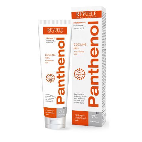 Gel za hlađenje i umirivanje kože posle opekotina REVUELE Panthenol 75ml