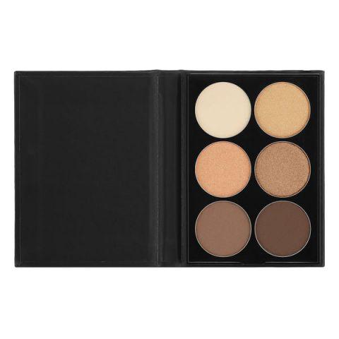 Paleta senki za oči NYX Professional Makeup Beauty School Nude S145 6x1.7g