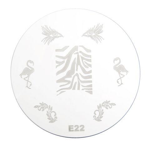 Šablon disk za pečate PMEO1 E22