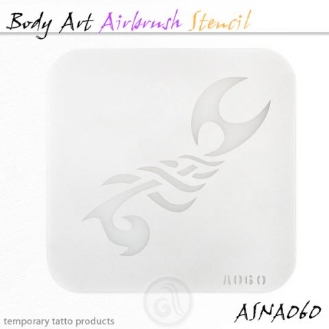 Airbrush šablon za telo ASN-BMA-A060