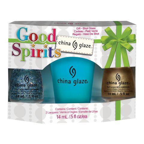 Set lakova za nokte CHINA GLAZE Good Spirits 2x14ml