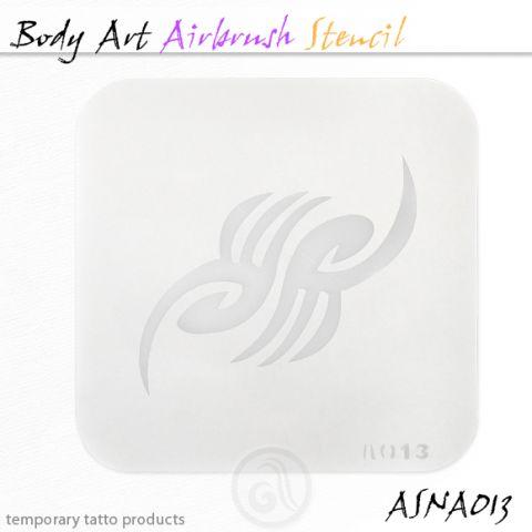 Airbrush šablon za telo ASN-BMA-A013