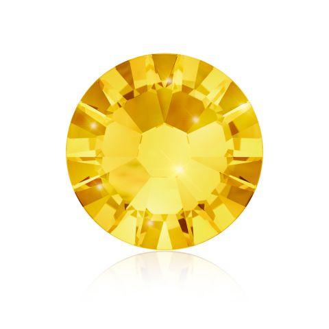 Kristali za nokte SWAROVSKI A 2058 Xilion Rose Enhanced SS5 Light Topaz 40/1