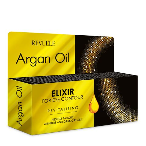 Poklon set za negu kože REVUELE Argan Oil 2x50ml +25ml
