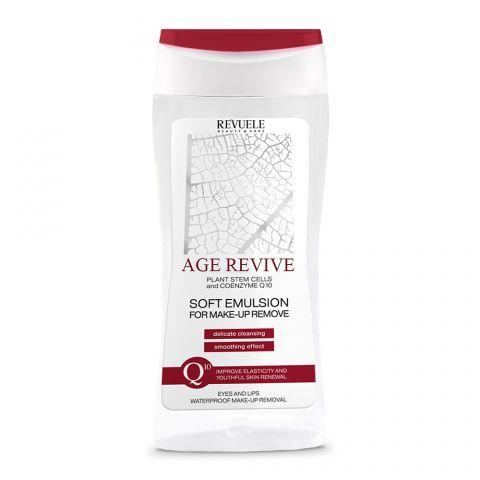 Emulzija za uklanjanje vodootporne šminke REVUELE Age Revive 200ml