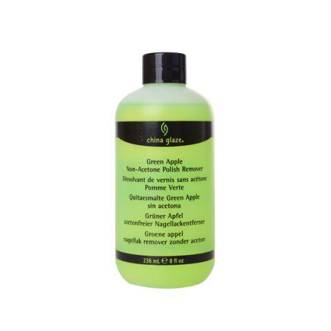 Skidač laka bez acetona sa aromom zelene jabuke CHINA GLAZE 236ml