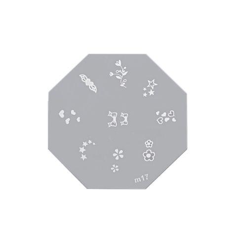 Šablon disk za pečate osmougaoni ASN M17