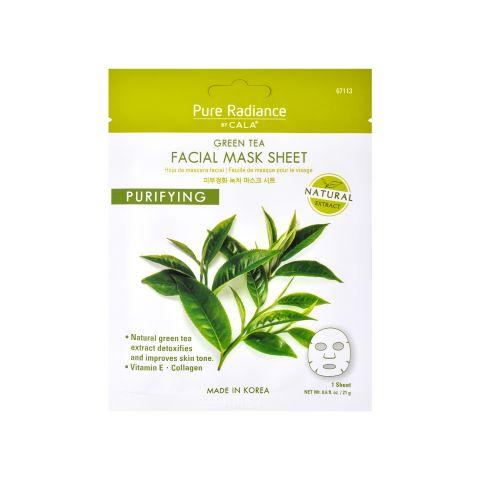Maska za lice sa zelenim čajem CALA Green Tea Purifying 21g