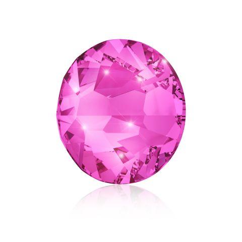 Kristali za nokte SWAROVSKI A 2058 XilionRose Enhanced SS5 Fuchsia 40/1