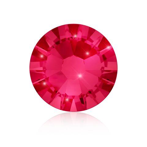 Kristali za nokte SWAROVSKI A 2058 Xilion Rose Enhanced SS5 Ruby 40/1