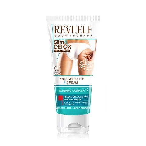 Anticelulit masažna krema REVUELE Slim&Detox 200ml
