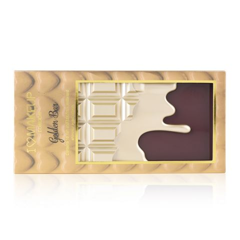 Paleta senki za oči I HEART MAKEUP Golden Bar 22g