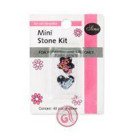 Dekorativno kamenje za Nail Art u setu MSK003 Mini 48/1