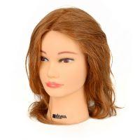 Training Head Natural Hair KIEPE Dark Blond 40cm