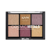 Cosmic Metals Shadow Palette NYX Professional Makeup CMSP01 6x1.37g