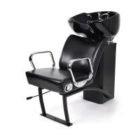Keramička šamponjera za pranje kose NS-5515 sa podesivom stolicom Crna