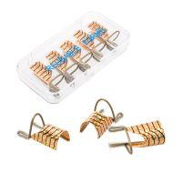 Aluminijumski šabloni za izlivanje noktiju ASNNF7 Zlatni 5/1