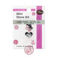 Dekorativno kamenje za Nail Art u setu MSK002 Mini 48/1