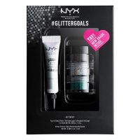 Set Face & Body Glitter and Primer NYX Professional Makeup #glittergoals GLISET01 3x1.5g