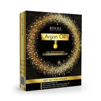 Skin Care Gift Set REVUELE Argan Oil 2x50ml + 25ml