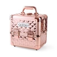 Beauty Case for Tools and Accessories GALAXY Rose Gold 1271