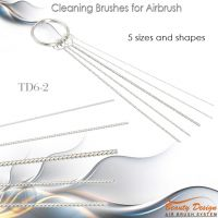 Cleaning Brushes for Airbrush Gun TD6-2