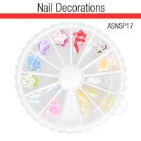 Nail Art Kit 3D Flowers ASNSP17